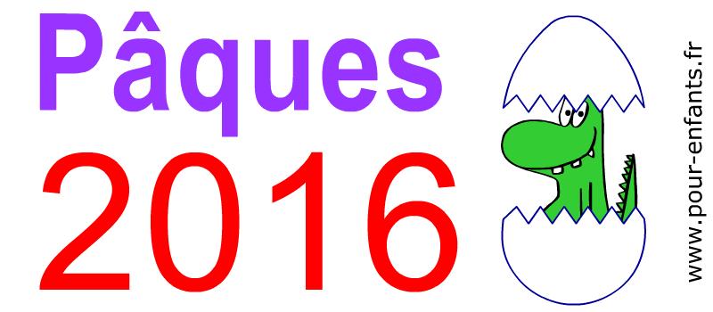 Dessins PAQUES 2016 à imprimer en maternelle