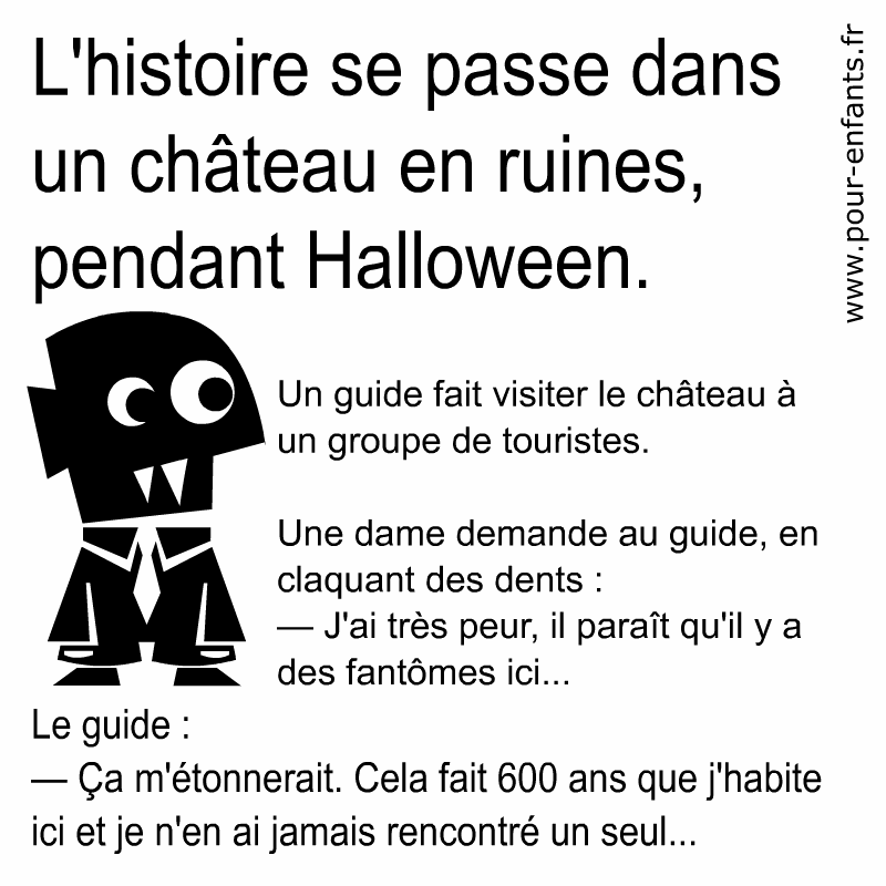 Blagues d 39 halloween archives charades jeux blagues - Image halloween drole ...