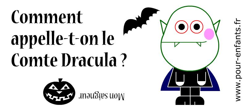 Devinette de vampire à imprimer. Dracula. Jeux de devinettes d'Halloween. Dessin de vampire, citrouille et chauve-souris.