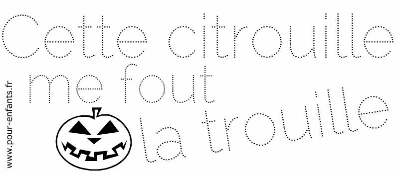 Jeux à imprimer Halloween coloriages de mots en pointilles dessin point a point maternelle