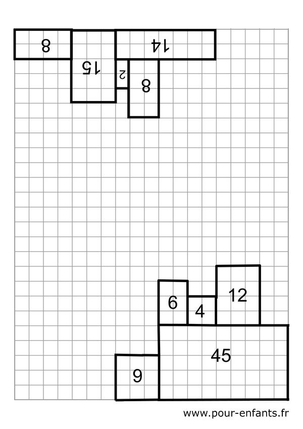 multiplication fiche de jeu a imprimer pour jouer à la maison