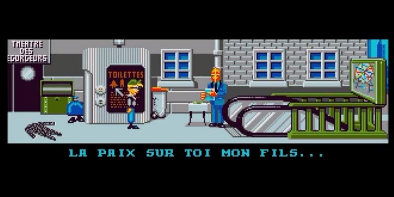 Bargon Attack copie d ecran jeu d aventure Claude Serge Marc Rasheed