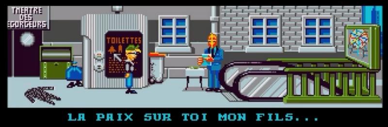 Bargon Attack, bande dessinée puis jeu d'aventures. Vidéo du jeu.