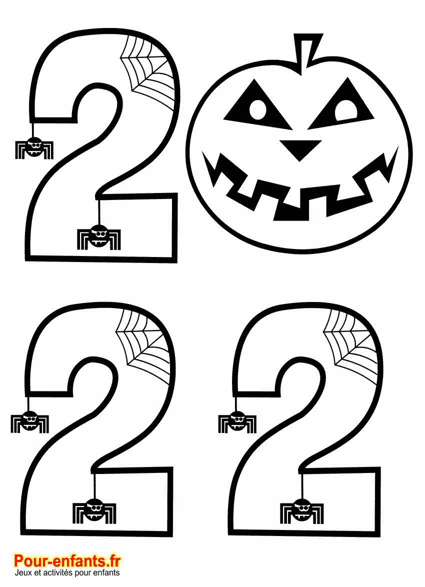 Date Halloween 2022 à imprimer et à colorier