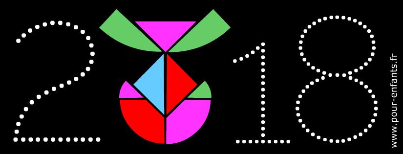 Pâques 2018 date et coloriages en pointillés à imprimer